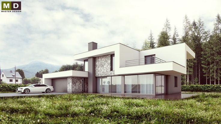 Moderní dům v přírodním prostředí pod horami Čeladná