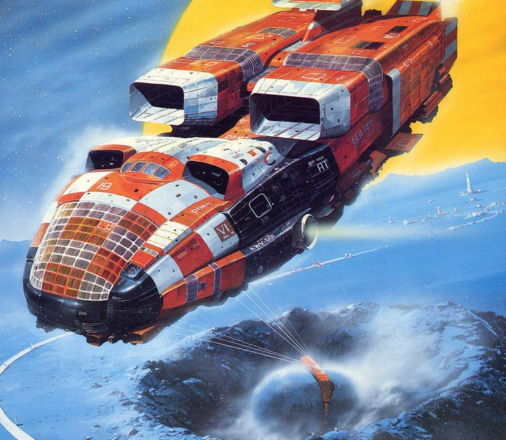 70s Sci Fi Art Chris Foss: 136 Best Images About Space Art