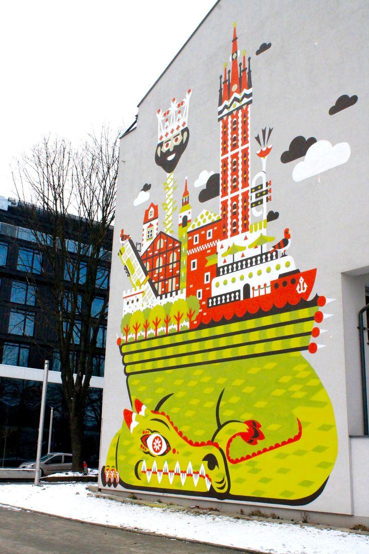Krak W Poland Polska Streetart Mural Visitpoland