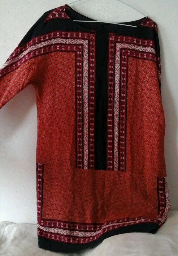 Vestido Massimo Dutti original usado talla 30/40