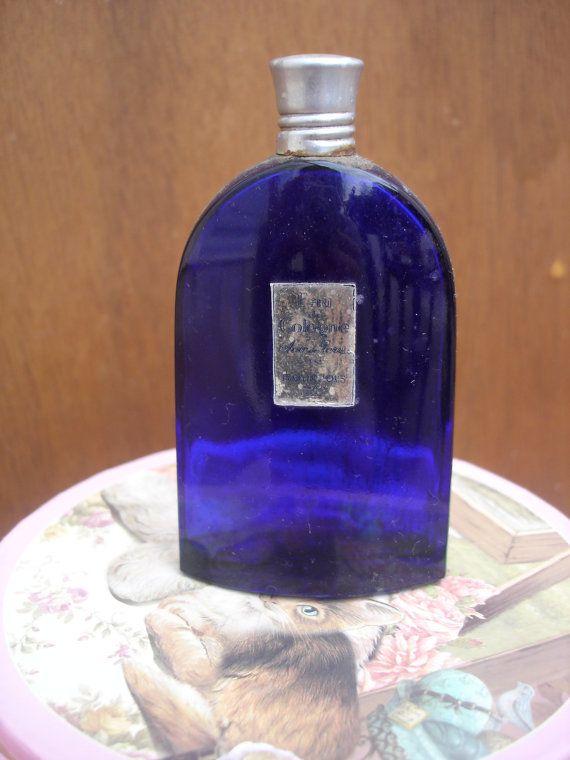 Eau de Cologne Soir de Paris Bourgeois Cobalt by OoohlalaParis