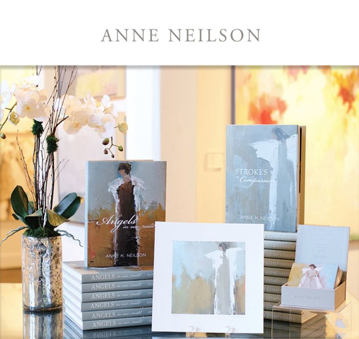 Anne neilson fine art angels in our midst and strokes of for Inspirational coffee table books