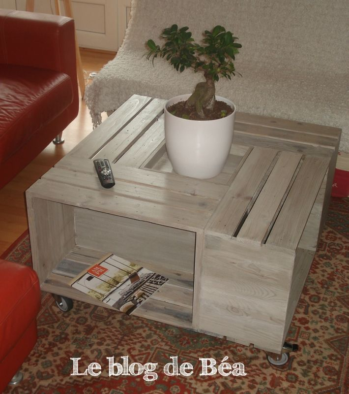 les 17 meilleures id es de la cat gorie tables basses de caisse sur pinterest table de caisse. Black Bedroom Furniture Sets. Home Design Ideas