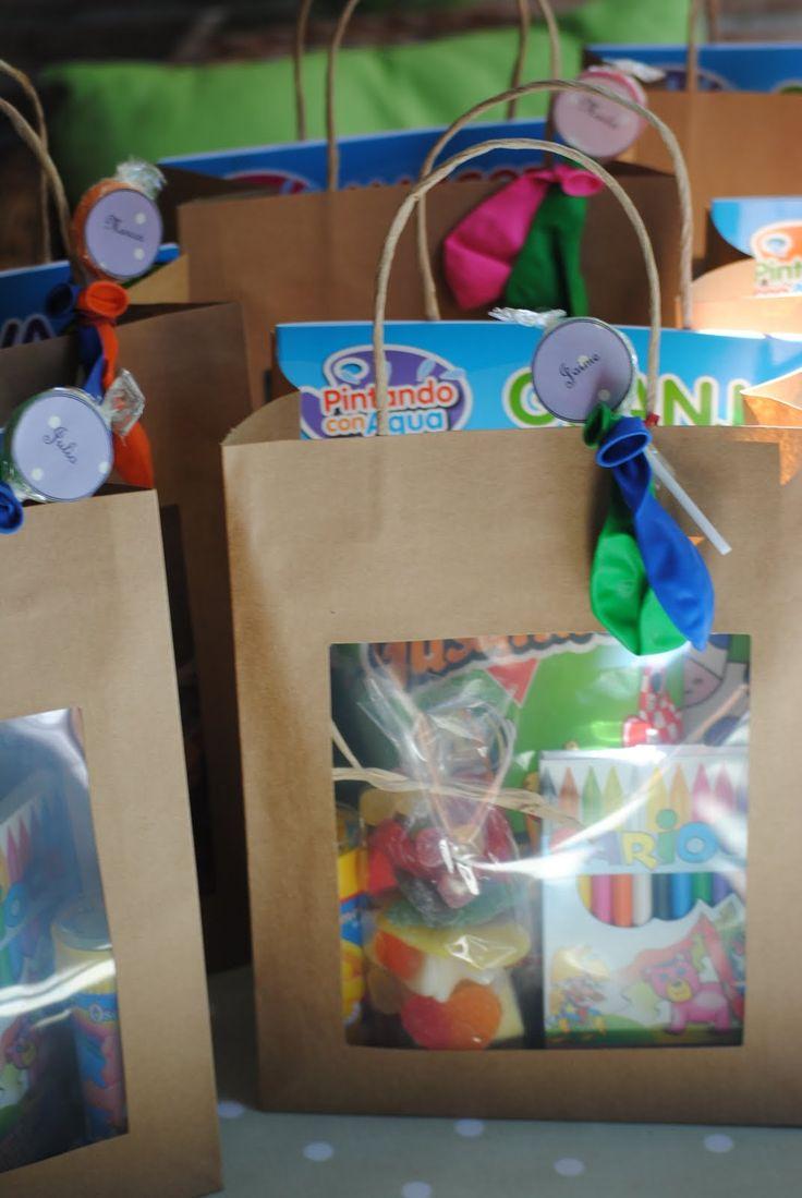 los detalles de bea bolsas dulces cargadas de sorpresas para la boda de mara
