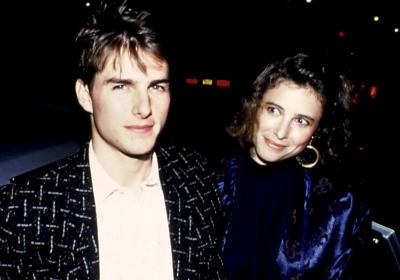 Tom Cruise and his first wife, actress Mimi Rogers