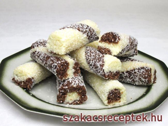 Kókusz rudacska • Recept   szakacsreceptek.hu