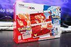 New Nintendo 3DS Pokemon 20th Anniversary Edition Red Blue Console USA