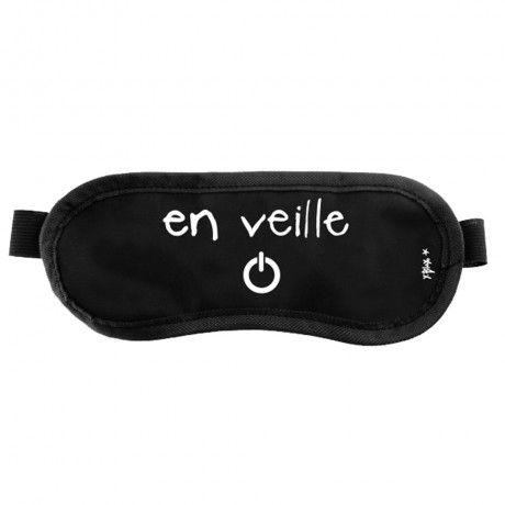 """Masque de Nuit """"En Veille"""" pour geek"""