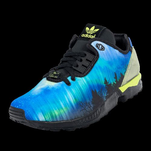 ADIDAS ZX FLUX 'GLOW IN DARK' now available at Foot Locker