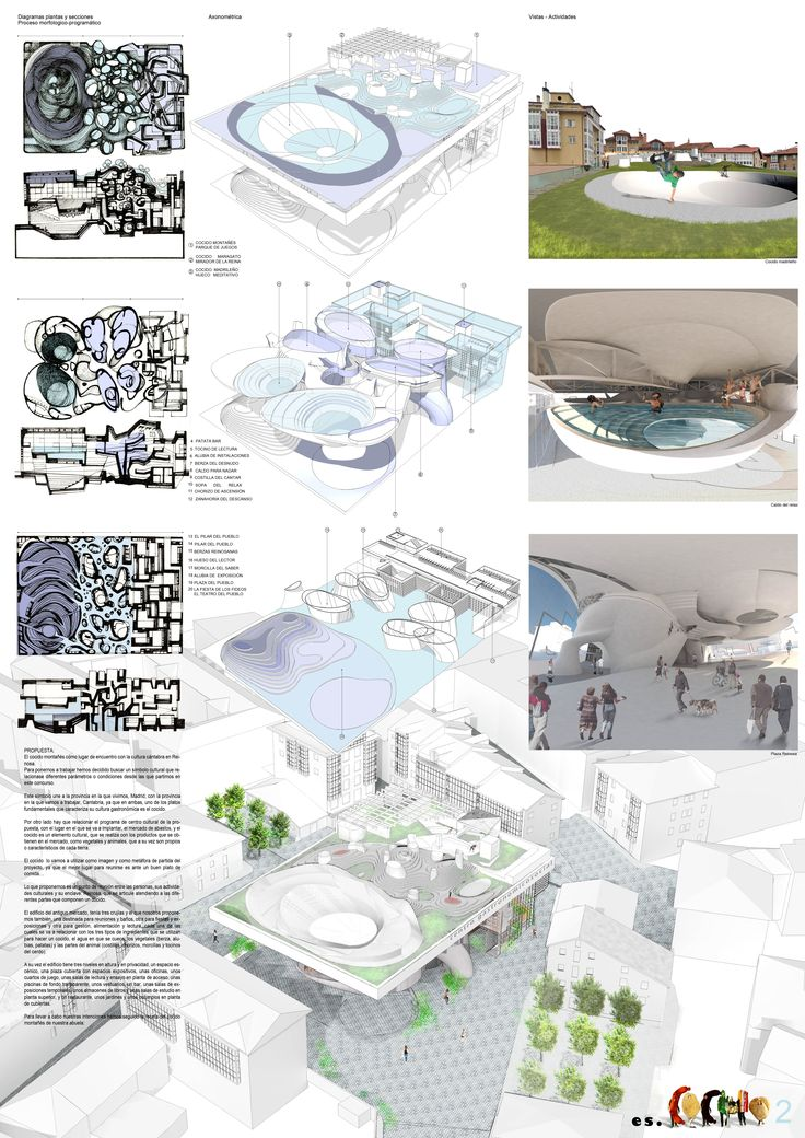 Concurso para edificio de usos múltiples en Reinosa (Cantabria) #3D #rhino #vray #photoshop #architecture #multipurpose #building #competition #reinosa #cantabria #spain