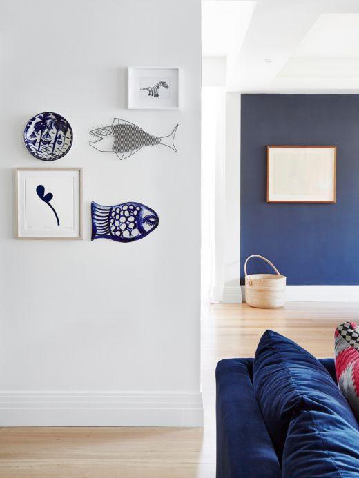Wall colour - dulux Klavier, matte finish, white walls dulux Lexicon