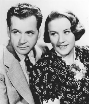 Audio CDs of Old Time Radio (pictured: Jim and Marian Jordan - Fibber McGee and Molly old time radio show.)