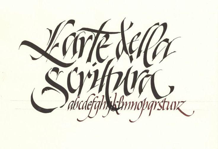 158 Best Calligraphy Gothic Fraktur Images On Pinterest