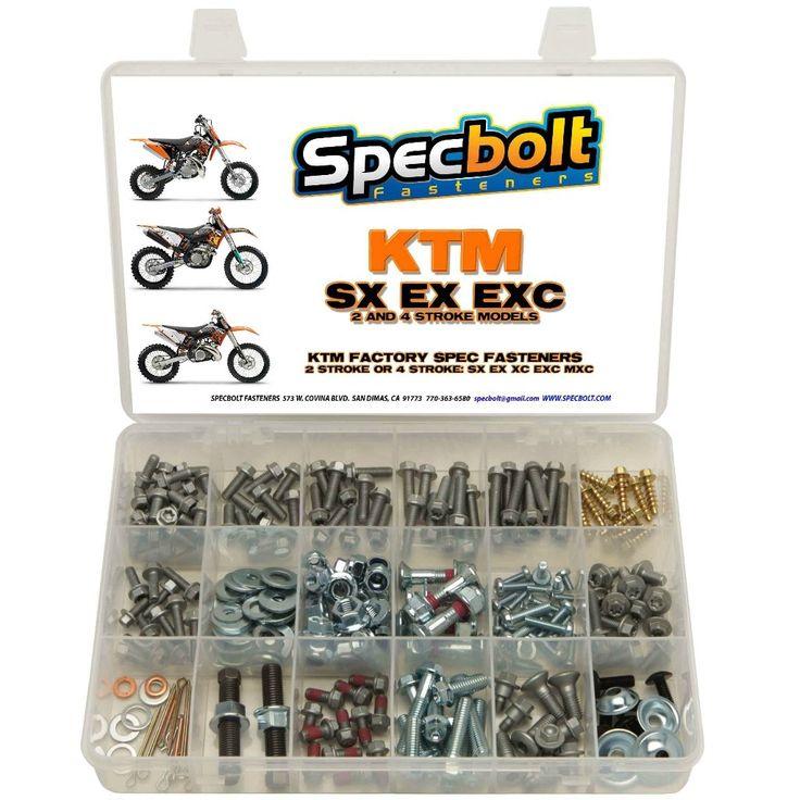 Specbolt - KTM 250pc 2/4 Stroke Bolt Kit - KTM-250