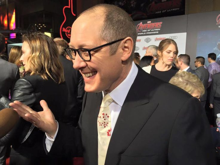 James Spader - Avengers Age of Ultron premiere