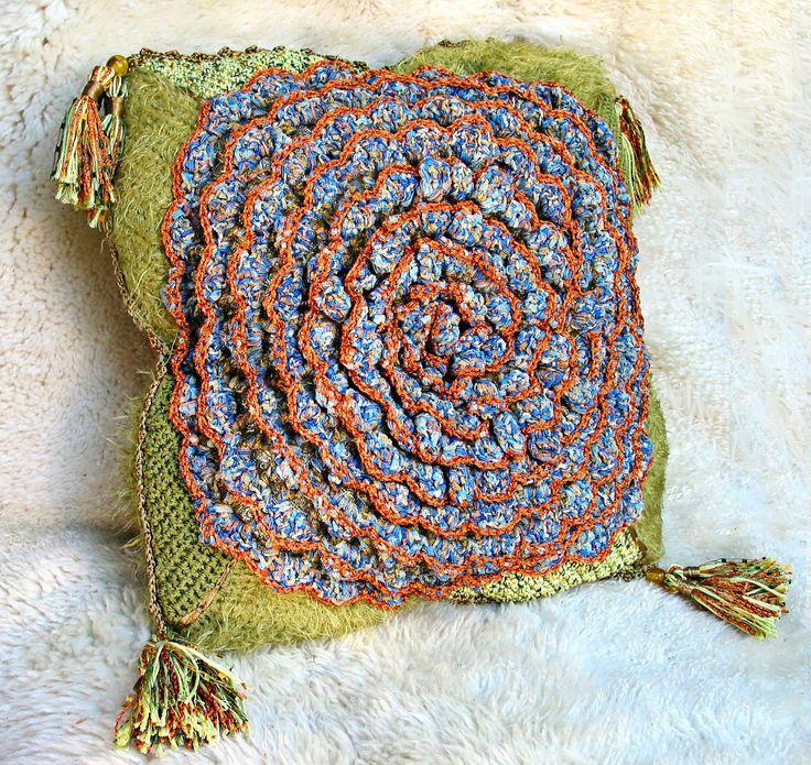 Mejores 95 imágenes de Knit and crochet cushions en Pinterest ...