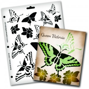 Butterfly Stencils & More