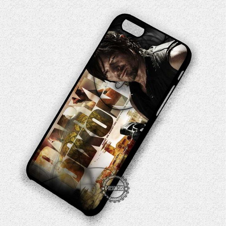 Guy Daryl Dixon The Walking Dead Movie Zombies- iPhone 7 6S 5 SE 4 Cases & Covers