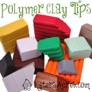 Polymer Clay Tips | Answers to the Most Frequently Asked Questions about Fingerprints Dust in your Clay from KatersAcres