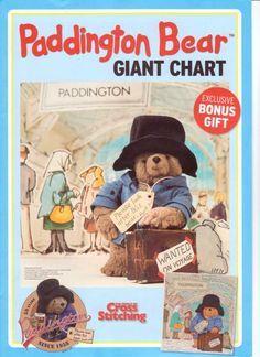 Paddington Bear Giant Chart The World of Cross Stitching Issue 138 June 2008  Saved