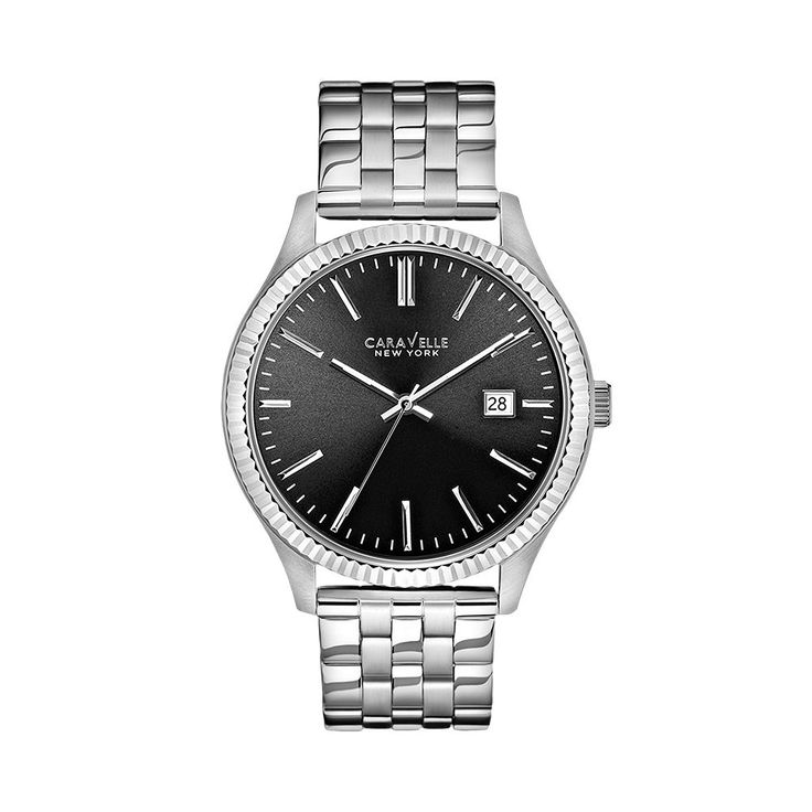 Caravelle New York by Bulova Men's Watch, Grey