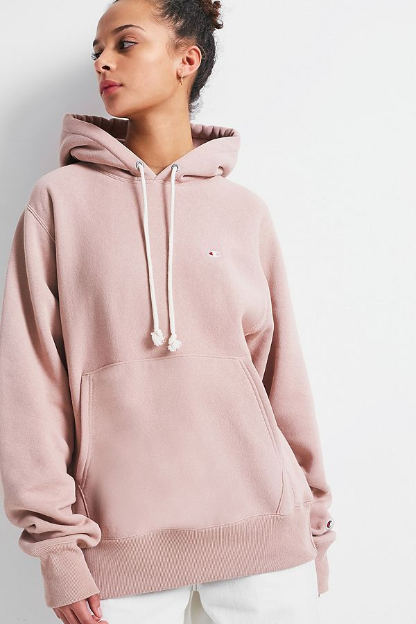 15cf7395d40a Champion X UO Blush Reverse Weave Hoodie