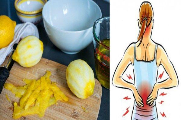 Les pelures du citron peuvent supprimer les douleurs articulaires une fois pour toute. Voici comment vous pouvez en bénéficier.