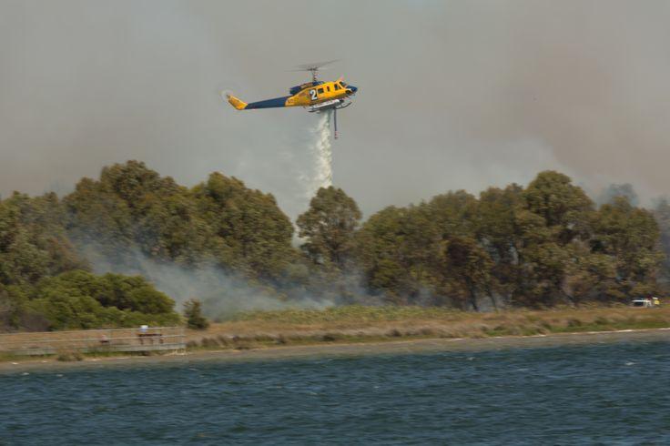 Bush Fire @ Lake Richmond Rockingham
