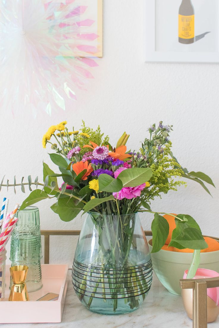 How to Make Fabulous Floral Arrangements with Grocery Store Bouquets