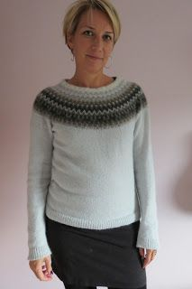 Swedish traditional knit: The Bohus Sweater