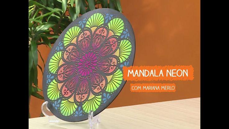 Aparador Tipo U ~ Mandala Neon com Mariana Merlo Vitrine do Artesanato na