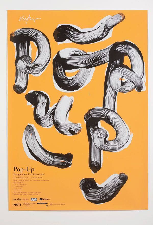 Poster design by James Victore