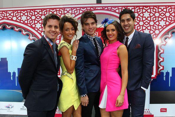 Chris, Phoebe, Josh, Hannah and Andy