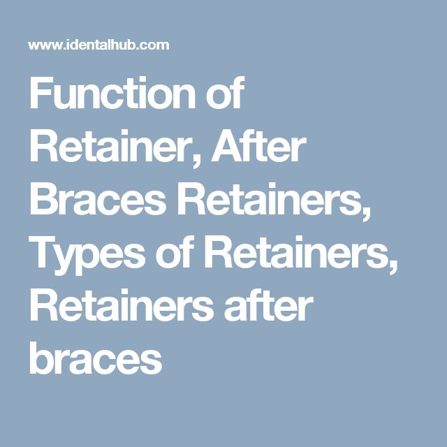 Best 25+ Braces retainer ideas on Pinterest | Braces tips ...
