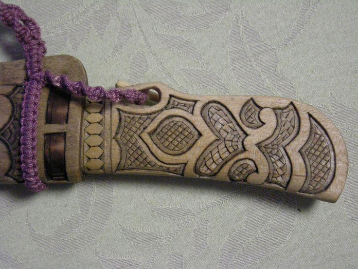 ainu makiri 2008.10 -DSCN16161316 | Wood Craft. ainu knife. … | Flickr
