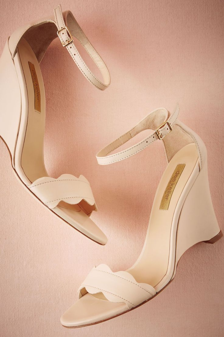 Kel - pricey but just showing for another wedge idea.  BHLDN Nimbus Wedges $270.00