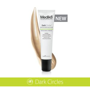 Introducing the NEW Dark Circles. We are pleased to announce that the new Dark Circles formula is now available. Dark Circles is a unique product concept to target all the causes of dark circles at once. Read more: http://www.medik8.com.cy/introducing-the-new-dark-circles/