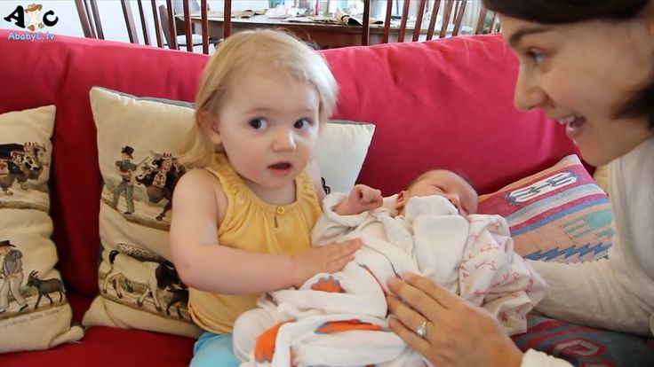 Kids meet Baby Sister Baby Boy for the first time Compilation - 2