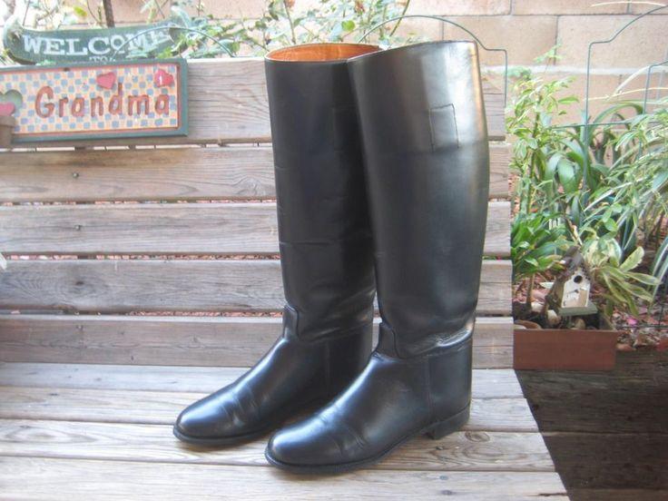 Marlborough English Riding/Equestrian Boots  Womens SIZE 7.5 Med #MARLBOROUGH