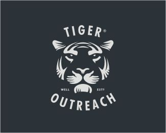 Tiger Otutreach Logo Design | More logos…
