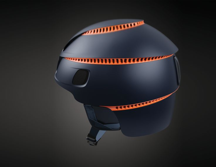 Coolshion Ski Rescue Helmet - by Qiaokun Huang / Core77 Design Awards