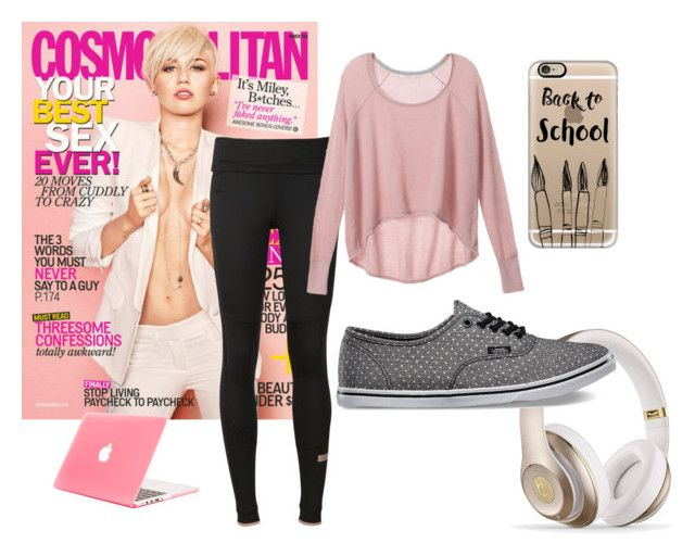 """""""Day Watching Netflix"""" by camigy on Polyvore featuring Cyrus, adidas, Victoria's Secret, Vans and Casetify"""