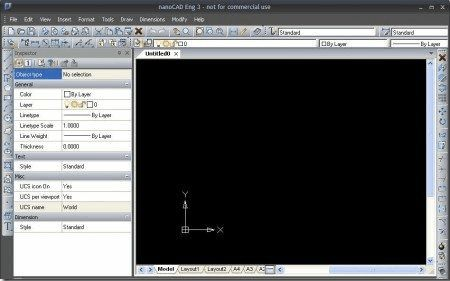 NanoCAD is a free CAD software. A CAD software can help you to make anything from a rocket as well as a chair. It supports DWF and DWG CAD file formats. You can use this freeware instead of Autocad as Autocad is a very expensive software. NanoCAD lets you easily create complex CAD designs.