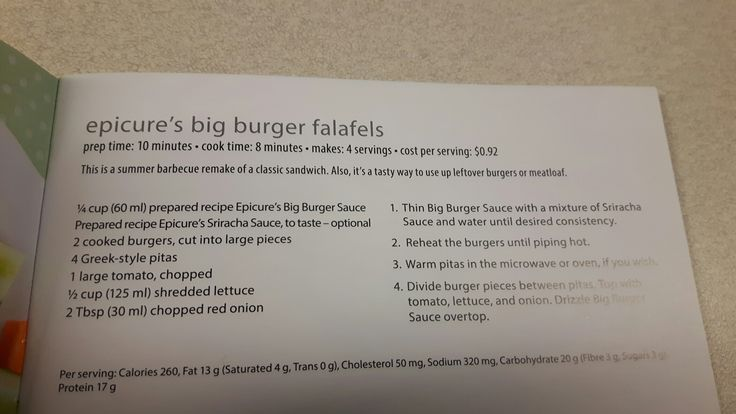 Epicure big burgers fafalas