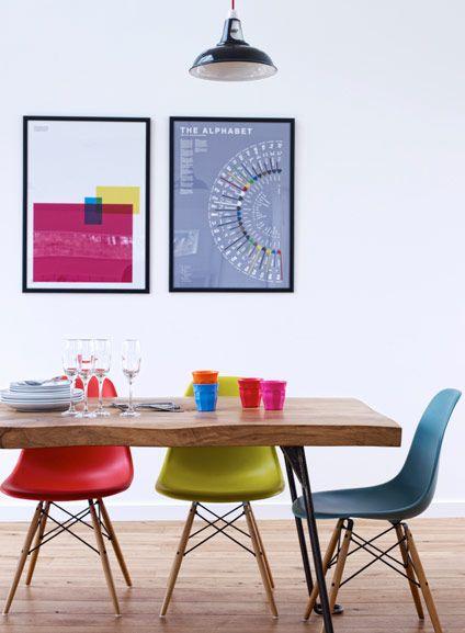APARTMENT | Colorful kitchen