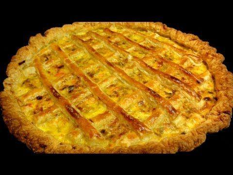 Pantxineta - Hojaldre relleno de crema pastelera - YouTube