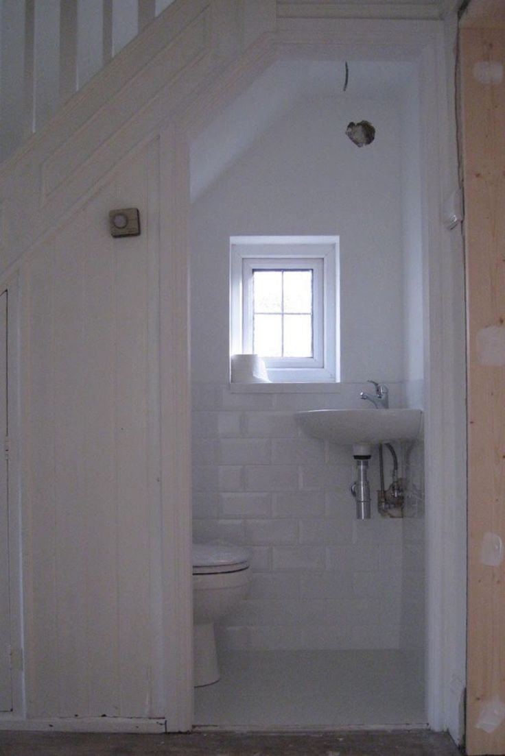 Understairs Toilet With Window