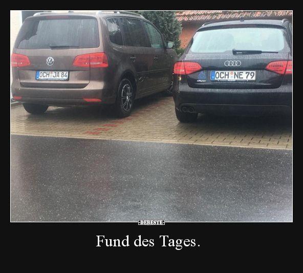 Fund des Tages … – #cars #des #Fund #Tages – Manuela Schmid