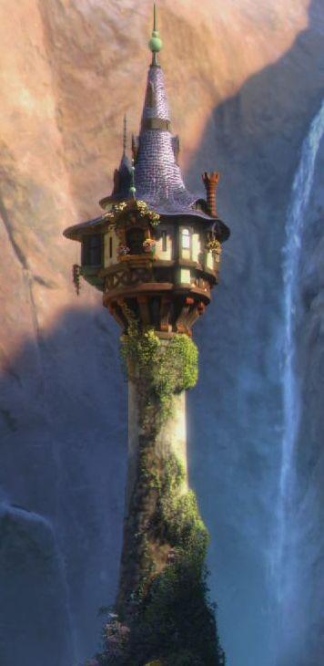 Rapunzel S Tower Tangled Tower Rapunzel Tower