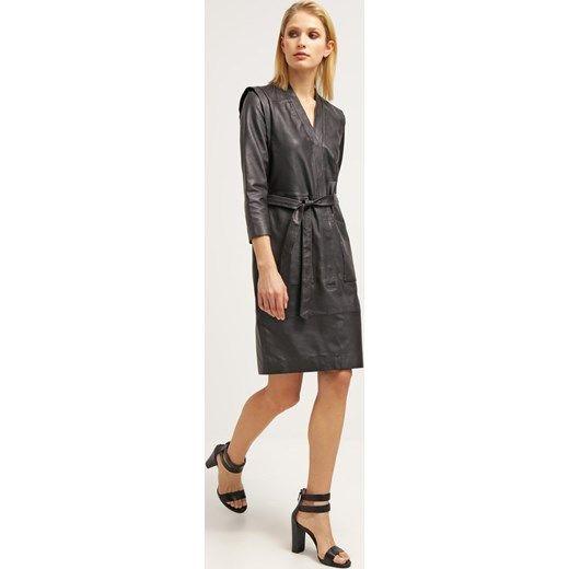 SET Sukienka letnia black zalando czarny midi